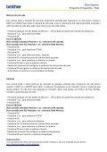 Auto-Suporte Perguntas Frequentes - FAQ - Brother - Page 5