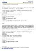 Auto-Suporte Perguntas Frequentes - FAQ - Brother - Page 6