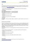 Auto-Suporte Perguntas Frequentes - FAQ - Brother - Page 7