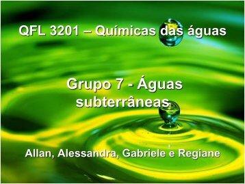 Águas Subterrâneas - Introdução - - USP
