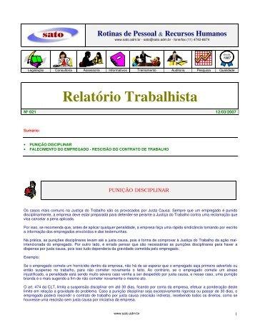 021 - Sato Consultoria de Pessoal