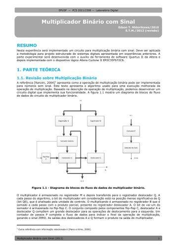 Projeto com Lógica Programável I - PCS - USP