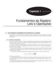 Fundamentos de Álgebra: Leis e Operações - Ponto Frio
