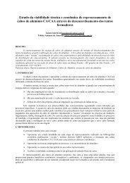 Estudo da viabilidade técnica e econômica do ... - DAELT