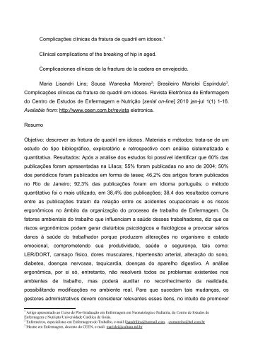 Oficio 01/2008 - Cursos de Especialização