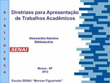 Diretrizes para Apresentação de Trabalhos Acadêmicos