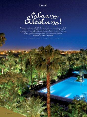 Veja o artigo - Embaixada do Reino de Marrocos