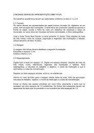 REGRAS GERAIS DE APRESENTAO _Normas da ABNT