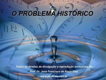 12. o problema histórico
