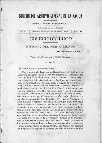 COLECCION LUGO - BAGN
