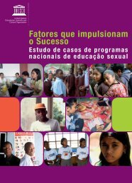 Factores que impulsionam o sucesso: estudo de ... - unesdoc - Unesco