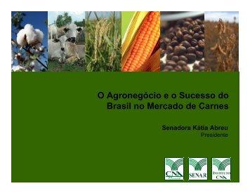 O Agronegócio e o Sucesso do Brasil no Mercado de Carnes