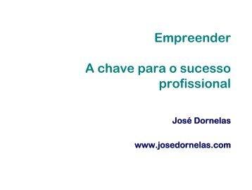 Empreender A chave para o sucesso profissional