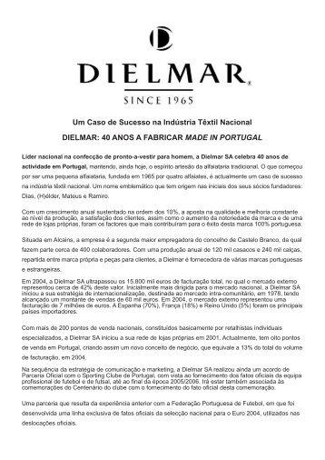 Um Caso de Sucesso na Indústria Têxtil Nacional DIELMAR: 40 ...