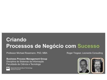 Criando Processos de Negócio com Sucesso - BPM LAB
