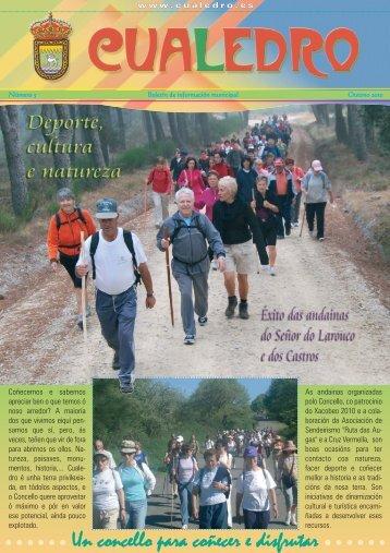 Revista Municipal Nº 5 (PDF 2.49 Mb) - Concello de Cualedro