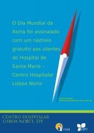 O Dia Mundial da Asma foi assinalado com - Hospital de Santa Maria