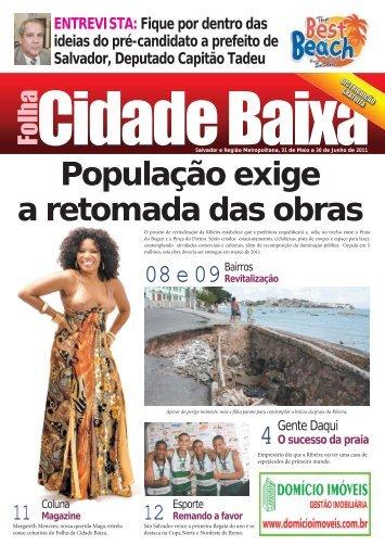 Edição 3 e 4 - Jornal Folha Cidade Baixa