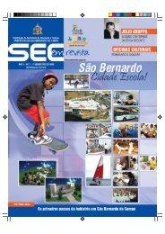 REVISTA_Edicao1.pdf - Prefeitura de São Bernardo