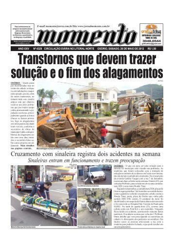 Edição 4329 Sábado, 26 de maio de 2012 - JORNAL MOMENTO