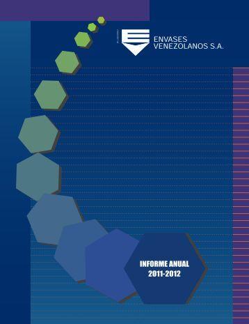 INFORME 2011-2012.indd - Envases Venezolanos