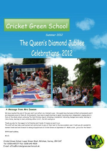 The Queen's Diamond Jubilee Celebrations 2012 - Fronter