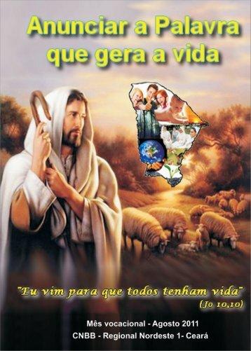livro vocacional agosto 2011 - Congregação dos Padres do ...