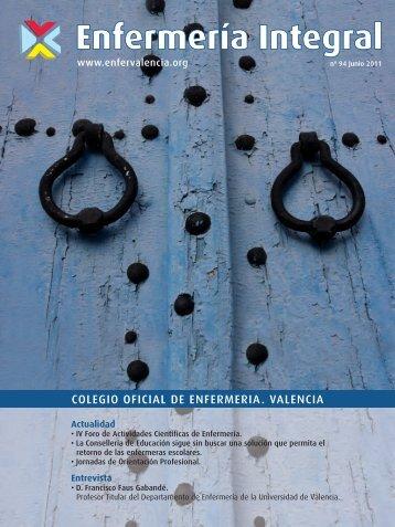 artículoscientíficos - Colegio de Enfermería de Valencia