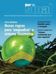 Novas regras para 'enquadrar' o sistema financeiro - Sinal