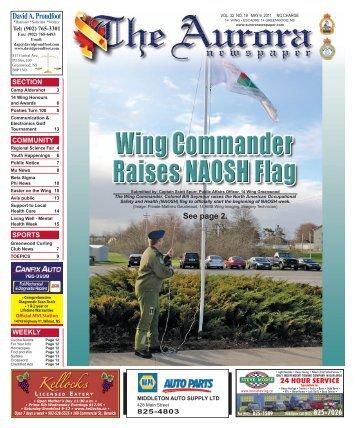 May 9 2011 - The Aurora Newspaper
