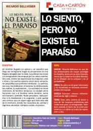 Ficha del libro - Editorial Casa de Cartón