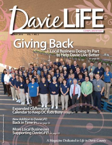 2nd Edition, May 2010 - DavieLiFE Magazine!
