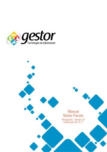 Manual Notas Fiscais - Gestor