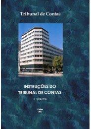 Instruções do Tribunal de Contas - II Volume