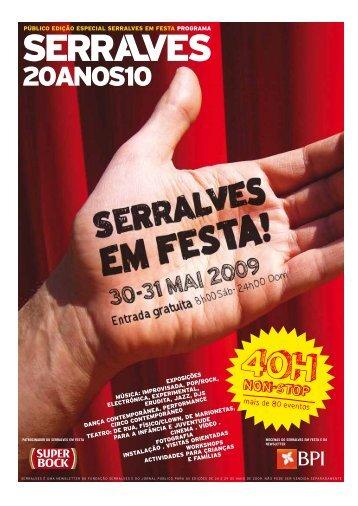 Programação de Serralves em Festa 2009 para Download