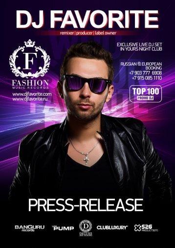 PRESS-RELEASE - DJ Favorite