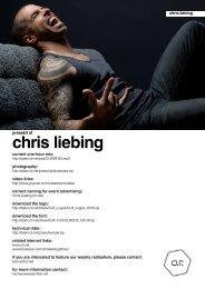 Download Chris Liebing Presskit - des VOID Festivals