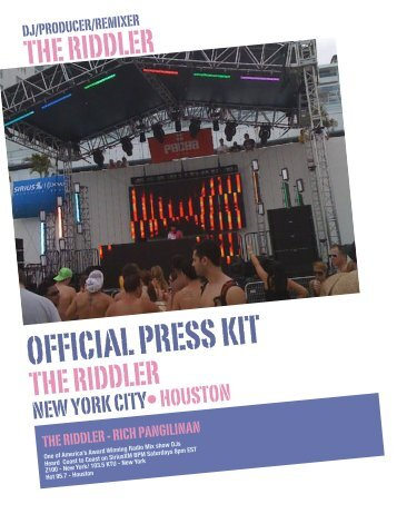 DOWNLOAD The Riddler Press Kit July 2010 BY