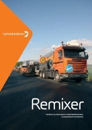 REMIXER-esite - Lemminkäinen Infra Oy