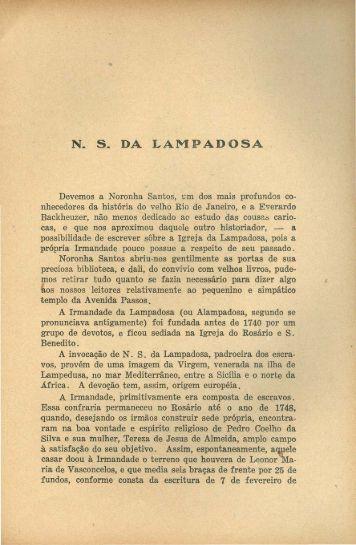 Nossa Senhora da Lampadosa, por Augusto Maurício