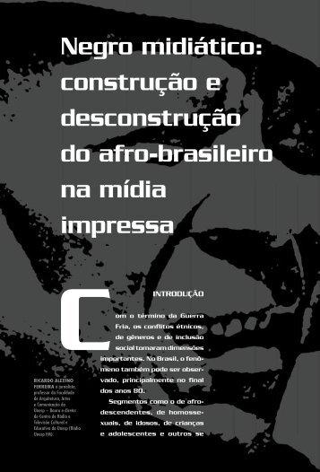 Negro midiático: construção e desconstrução do afro ... - USP