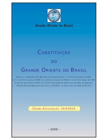 Constituição (Formato Boletim).pmd - Grande Oriente do Brasil