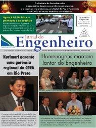 O Jornal do Engenheiro é uma publicação da - associação dos ...