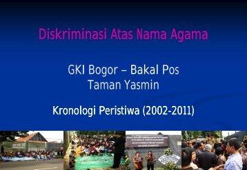Presentasi Diskriminasi - GKI