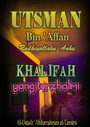 Ustadz 'Abdurrahman at-Tamimi – Utsman Bin Affan