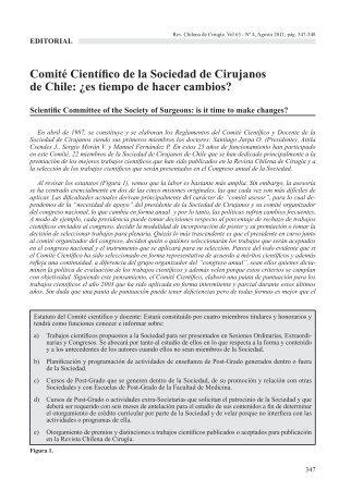 cirugia 4-2011.indd - Sociedad de Cirujanos de Chile