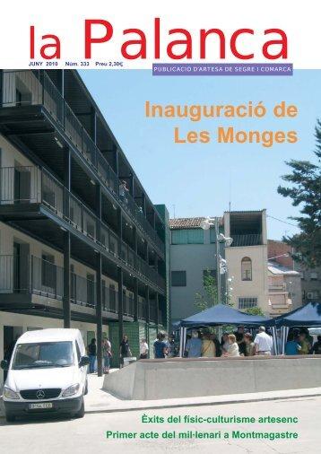Inauguració de Les Monges - La Palanca