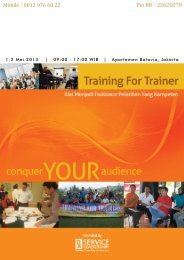 Train The Trainer - Service Leadership