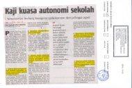 Kaji kuasa autonomi sekolah - Kementerian Pelajaran Malaysia