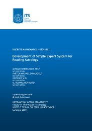 Development of Simple Expert System for Reading Astrology